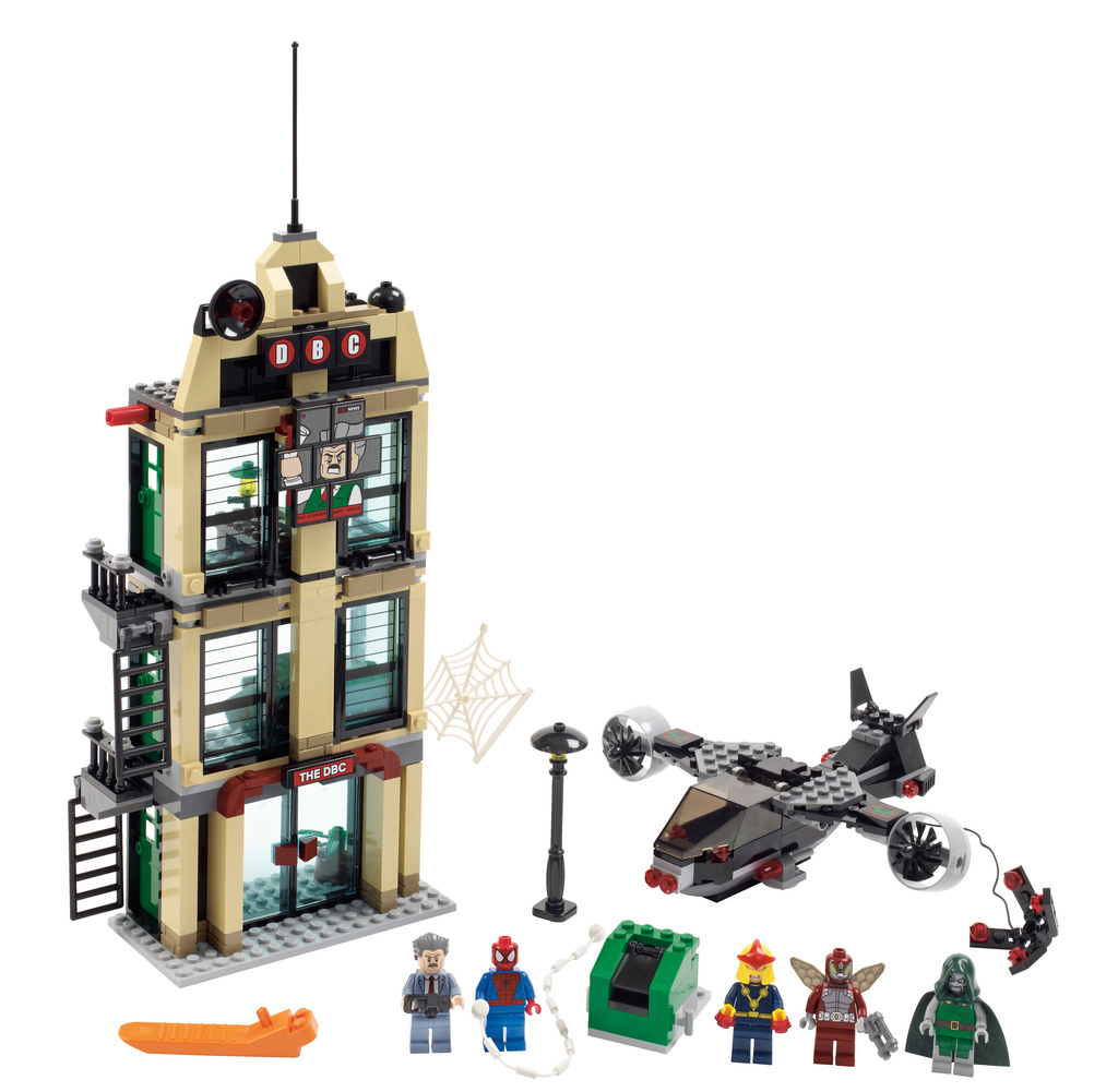 at the upcoming new lego marvel spider man s daily bugle showdown setLego Marvel Spider Man