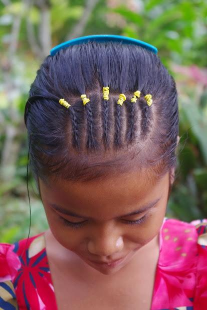 micronesian girl cornrow mohawk