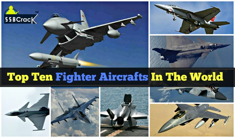 Top Ten Fighter Aircraft In The World