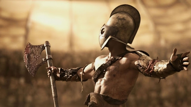 Гладиатор на арене - боец!