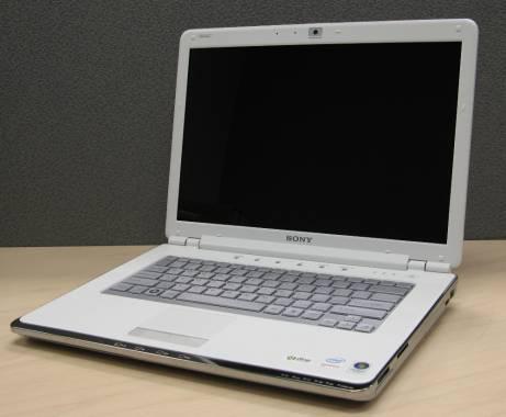 sony vaio laptop cr