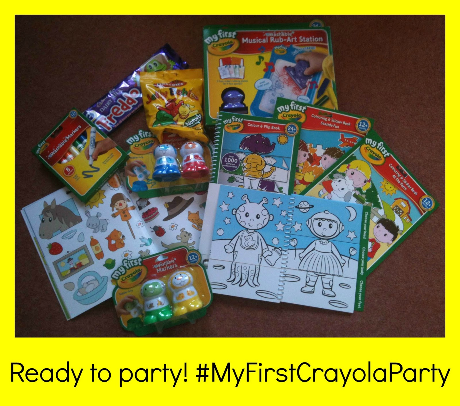 Crayola my first Colouring /& Sticker Books At The Farm /& Seaside