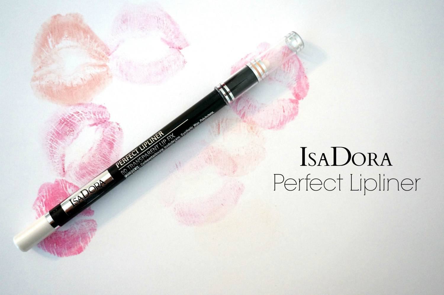 IsaDora perfect lipliner in 80 transparent