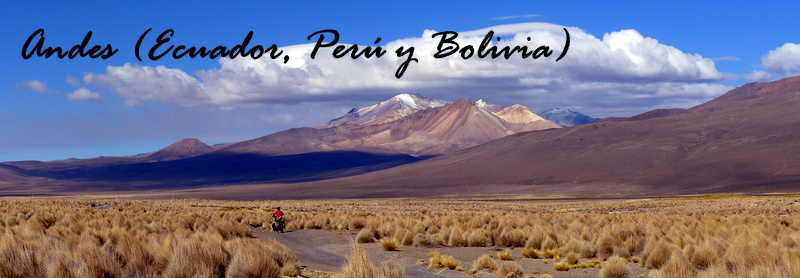 Andes (Ecuador, Perú y Bolivia)