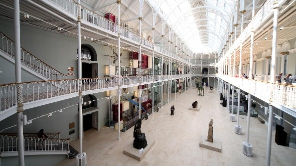 National Museum of Scotland reopens to the public