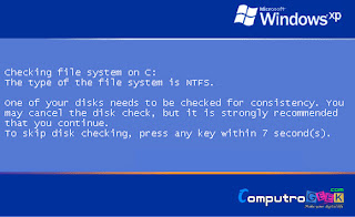 Disable Auto Check Disk (CHKDSK)