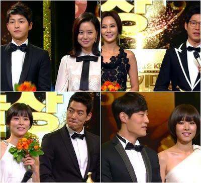 Berikut daftar lengkap pemenang 'KBS Drama Awards 2012? seperti dilansir Allkpop