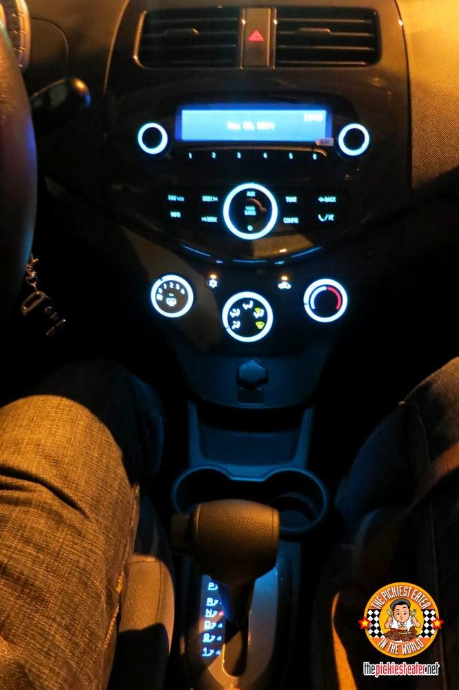 Chevrolet Spark interior led lights