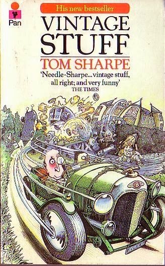 Vintage stuff (Published in 1982) - Authored by Tom Sharpe - About a teenage boy