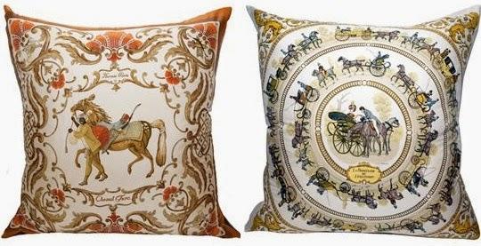 replica hermes pillow
