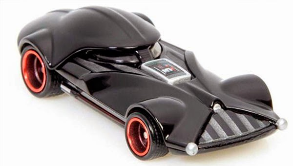 Vehículo Darth Vader Hot Wheels