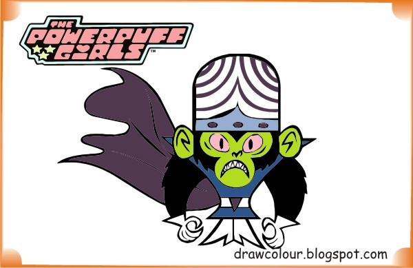 the_powerpuff_girls-mojo_jojo-coloring-pages