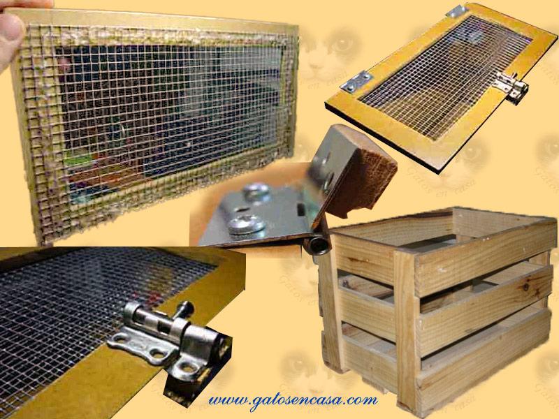 Convierte una caja de fruta en un transport n para gato - Casa gatos exterior ...