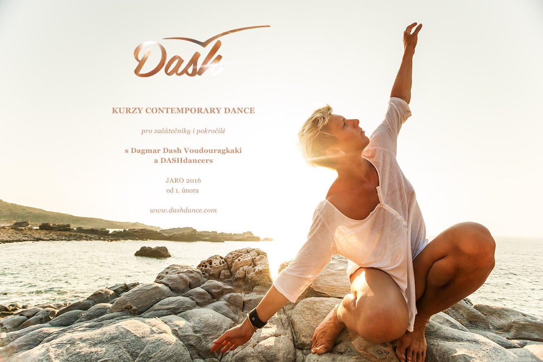 Kurzy contemporary dance jaro 2016