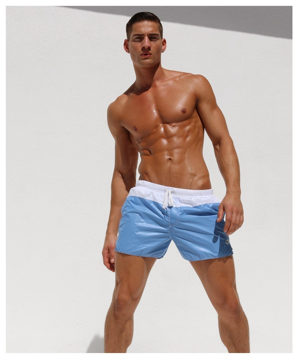 http://www.pacificjock.com/rufskin-sylvain-wet-look-shorts-orange-or-sky/