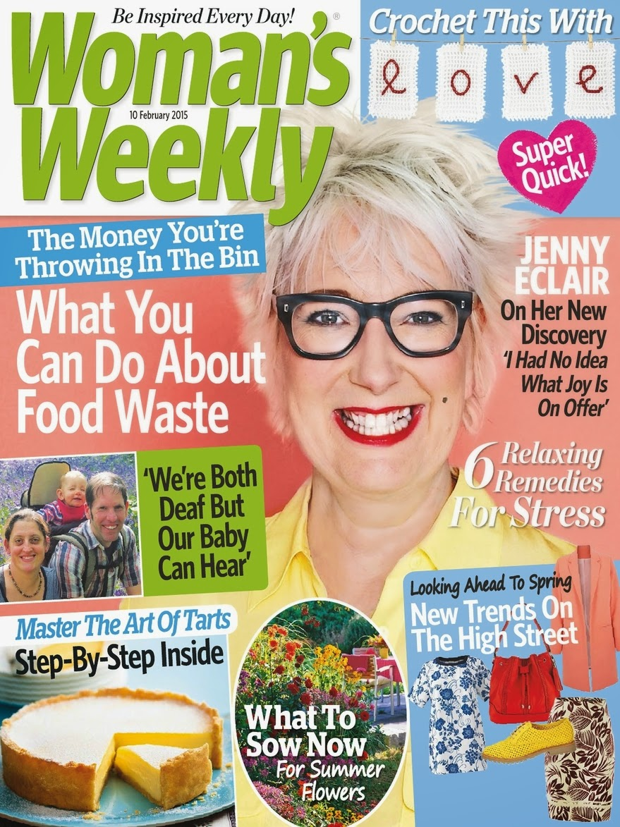 Comedian, Novelist , Actress: Jenny Eclair for Woman's Weekly
