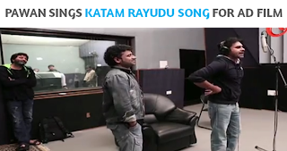 Pawan Katam Rayudu song making