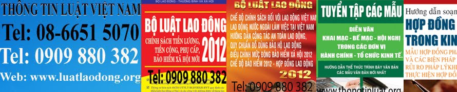B LUT LAO NG NM 2013, LUT LAO NG MI NHT 2013, DOWNLOAD