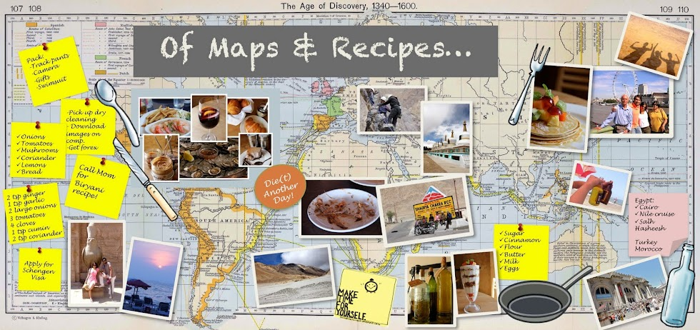 Of Maps & Recipes