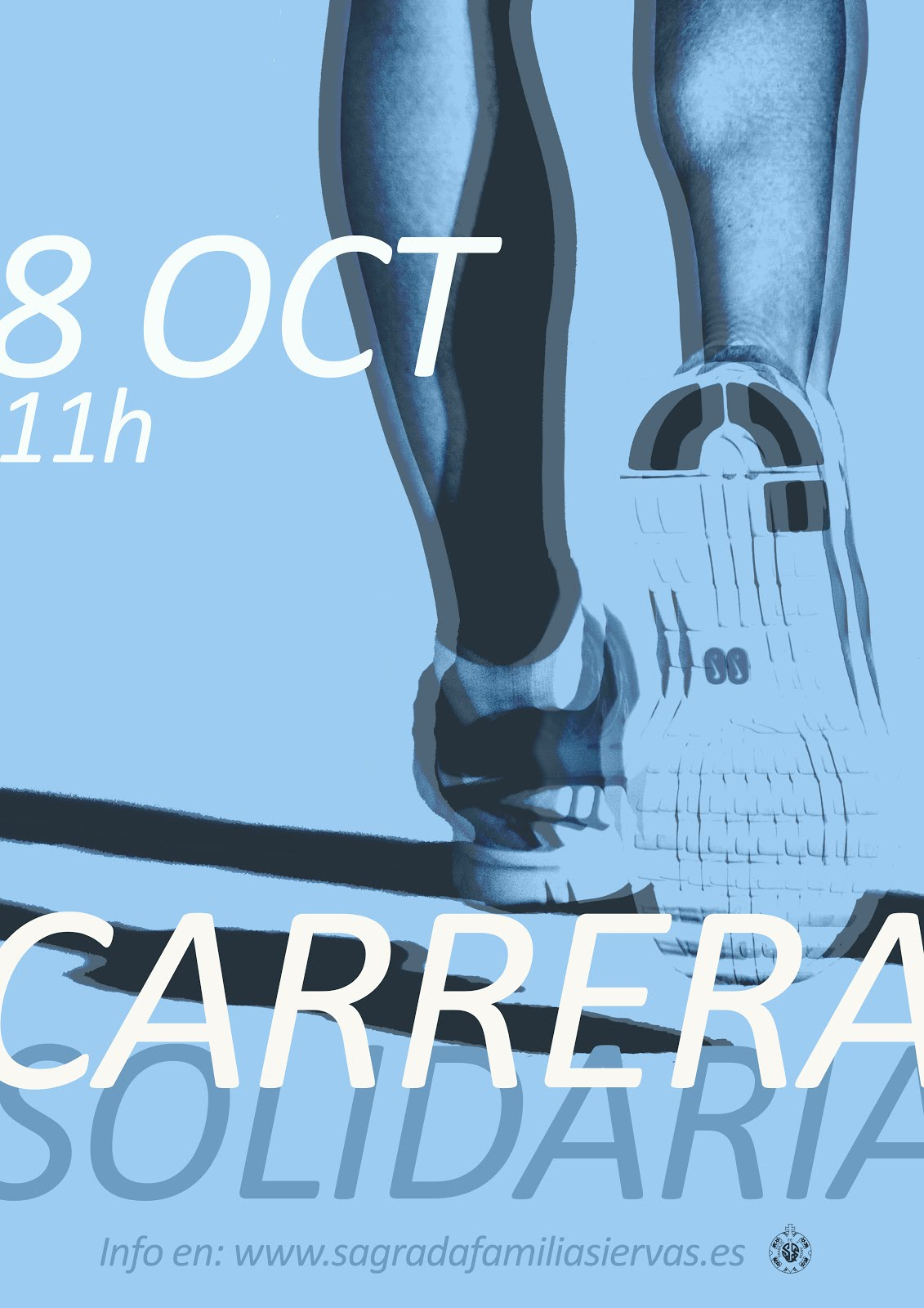 Carrera Solidaria - dom. 8 oct., 11:00h