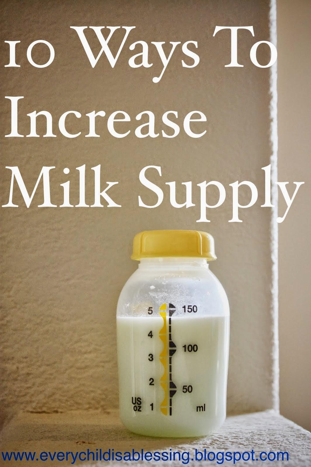 Diet increase breast milk topic, interesting