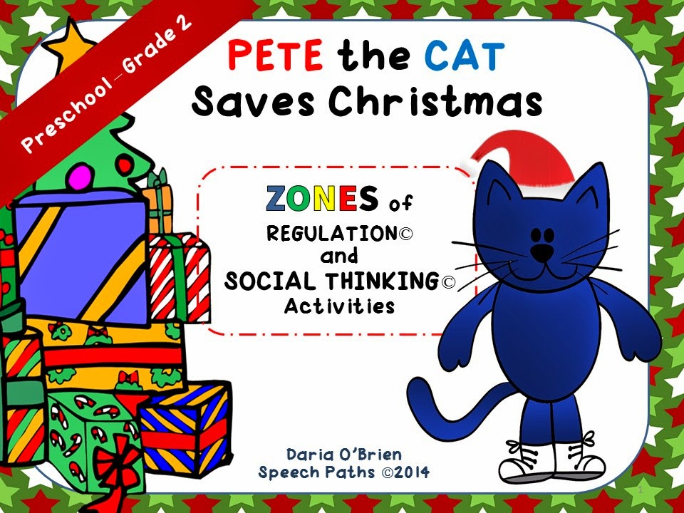 speech paths pete the cat saves christmas - Pete The Cat Saves Christmas