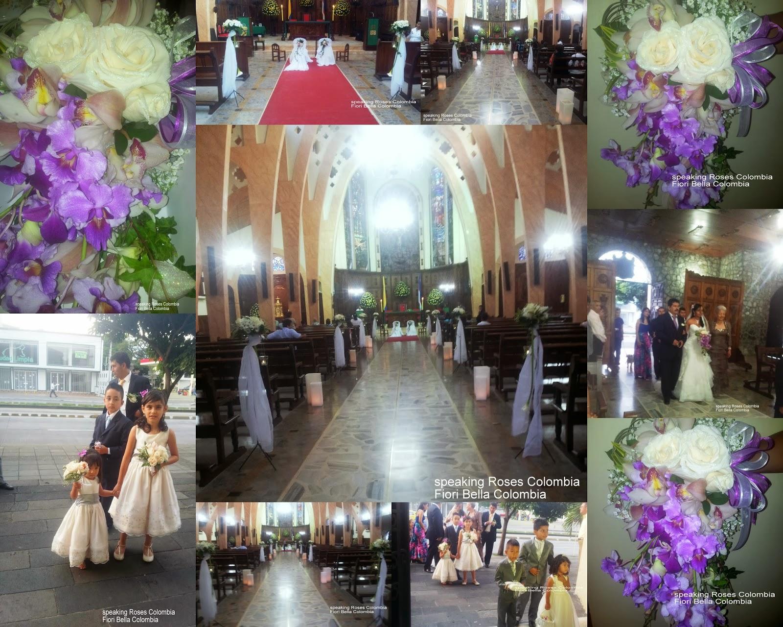 decoracin iglesia para boda