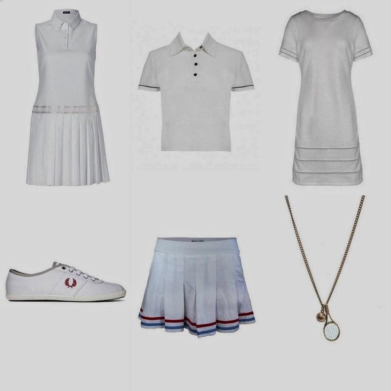 tennis inspired trend