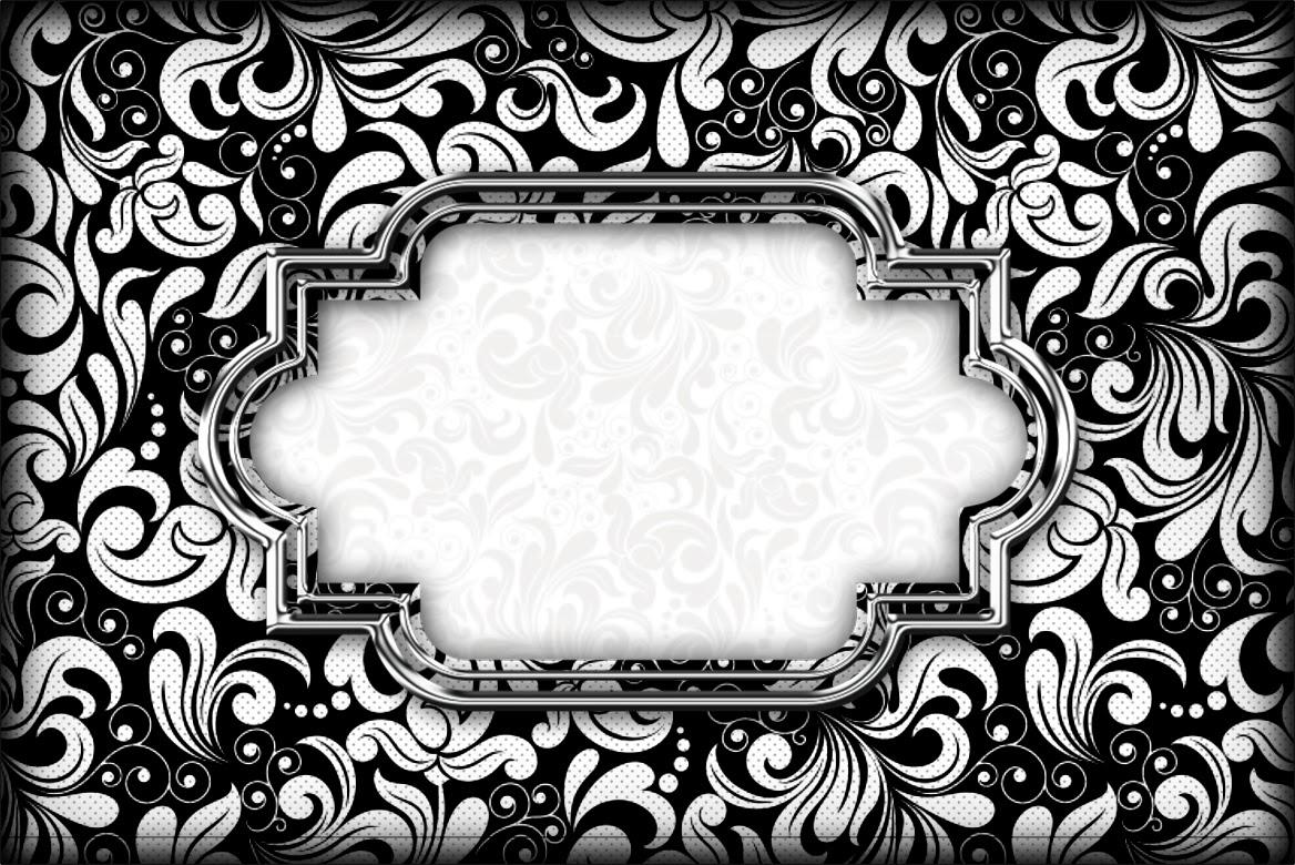 0ef01d7b613 Blanco y Negro: Invitaciones para Imprimir Gratis. | Ideas y .