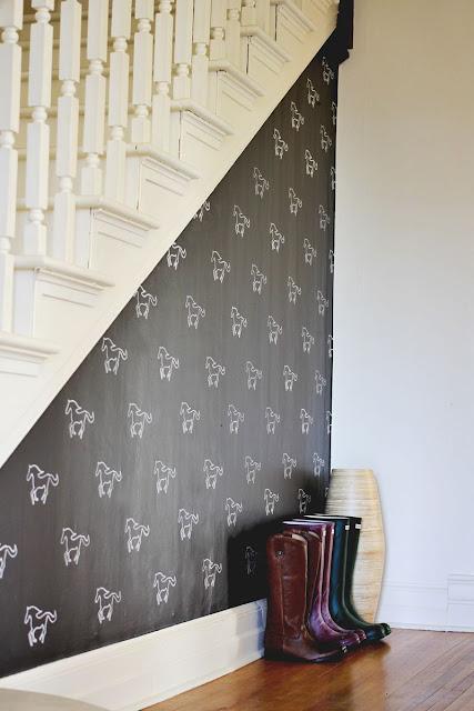 Decora tus paredes con stencil personalizado