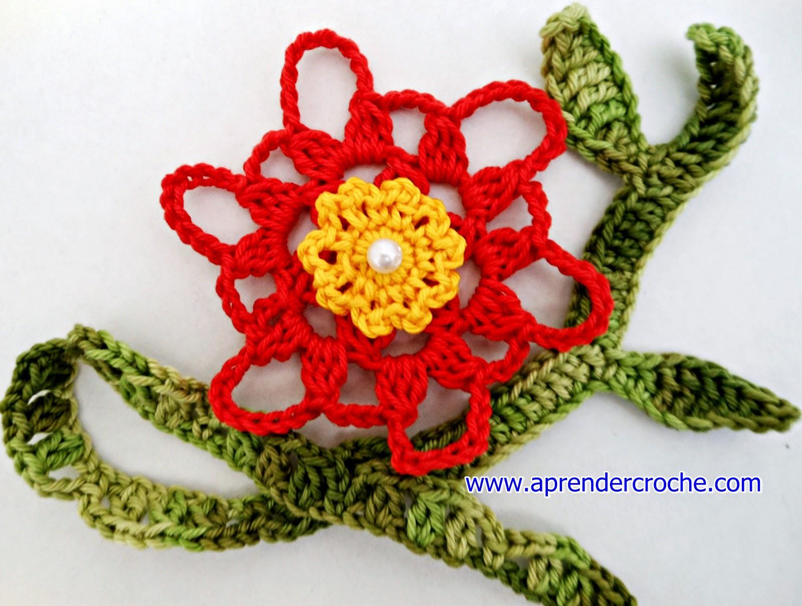flores em croche motivos florais imperatriz aprender croche com edinir-croche dvd video-aulas loja curso frete gratis