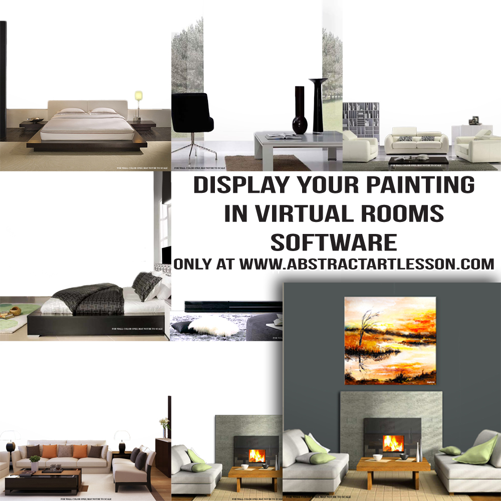 Display Your Painting in Virtual Room Softwre