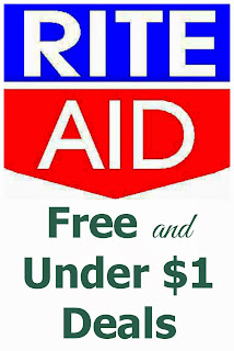 Rite Aid FREE and Under $1 Deals -- 12/29-1/4