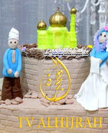 Cake for Al Hijrah TV