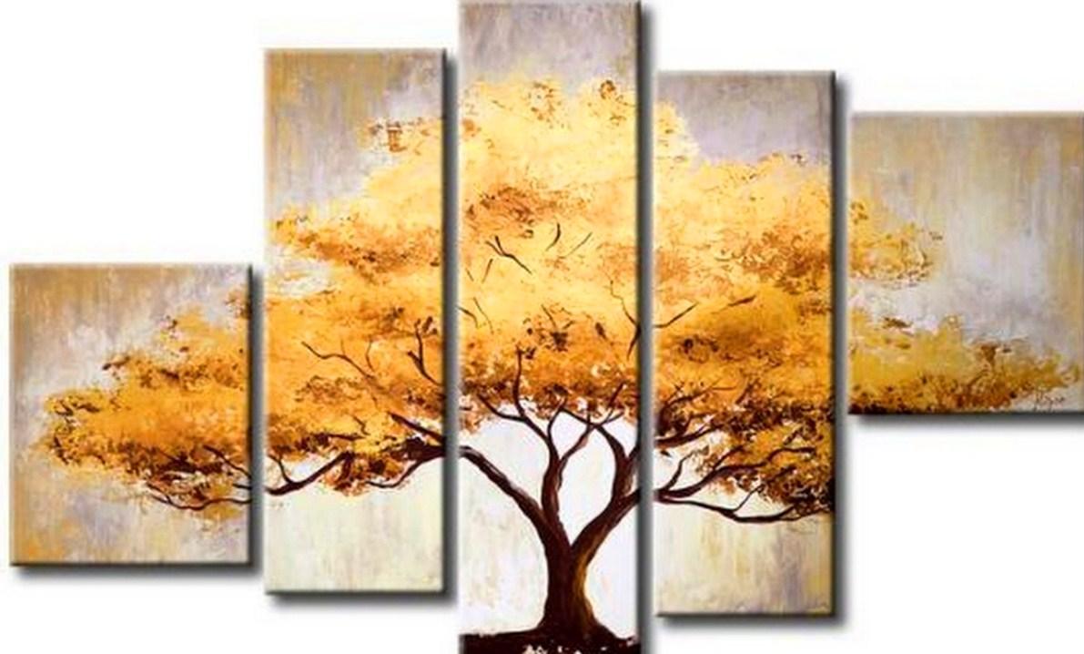 Im genes arte pinturas paisajes decorativos al oleo for Cuadros al oleo modernos para comedor