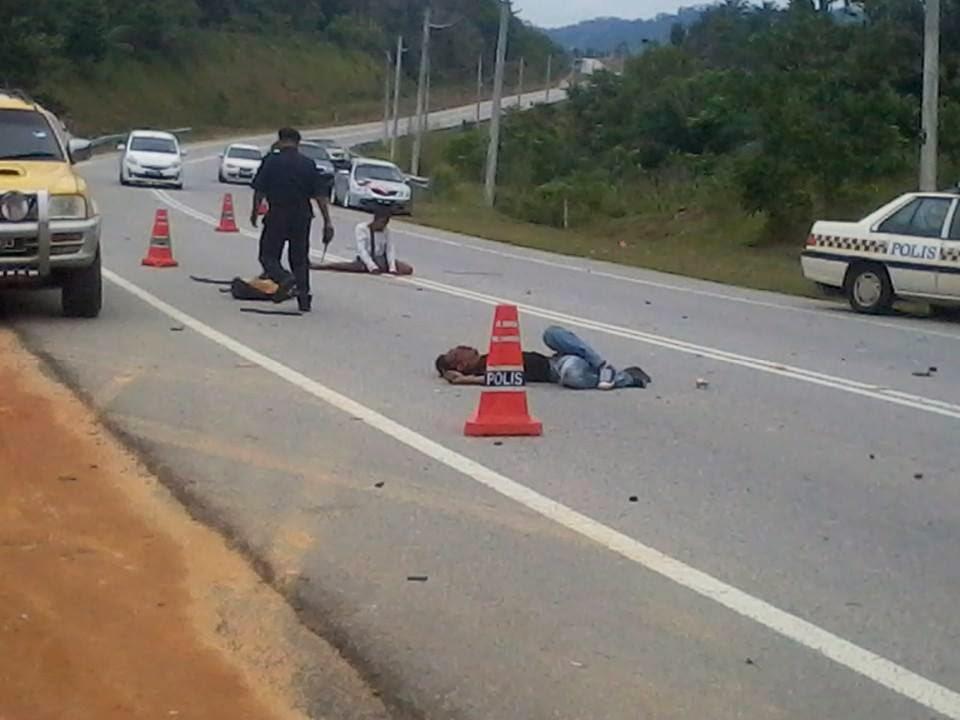 Kemalangan Maut jalan Jerangau Jabor