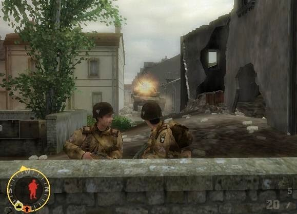 Brothers in arms earned in blood patch 12