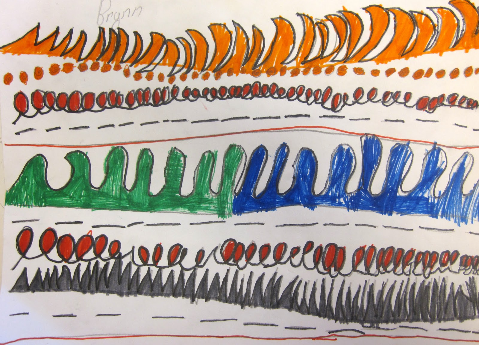 Line Art Lesson For Kindergarten : Art is basic teacher easy line lesson