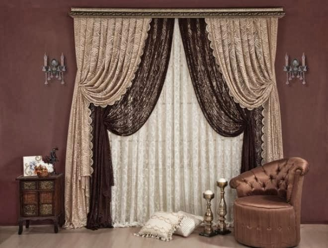 living room design ideas: Exclusive Top Catalog of Classic Curtains ...