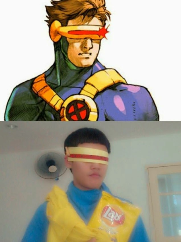 Lowcost Cosplay - Cyclops