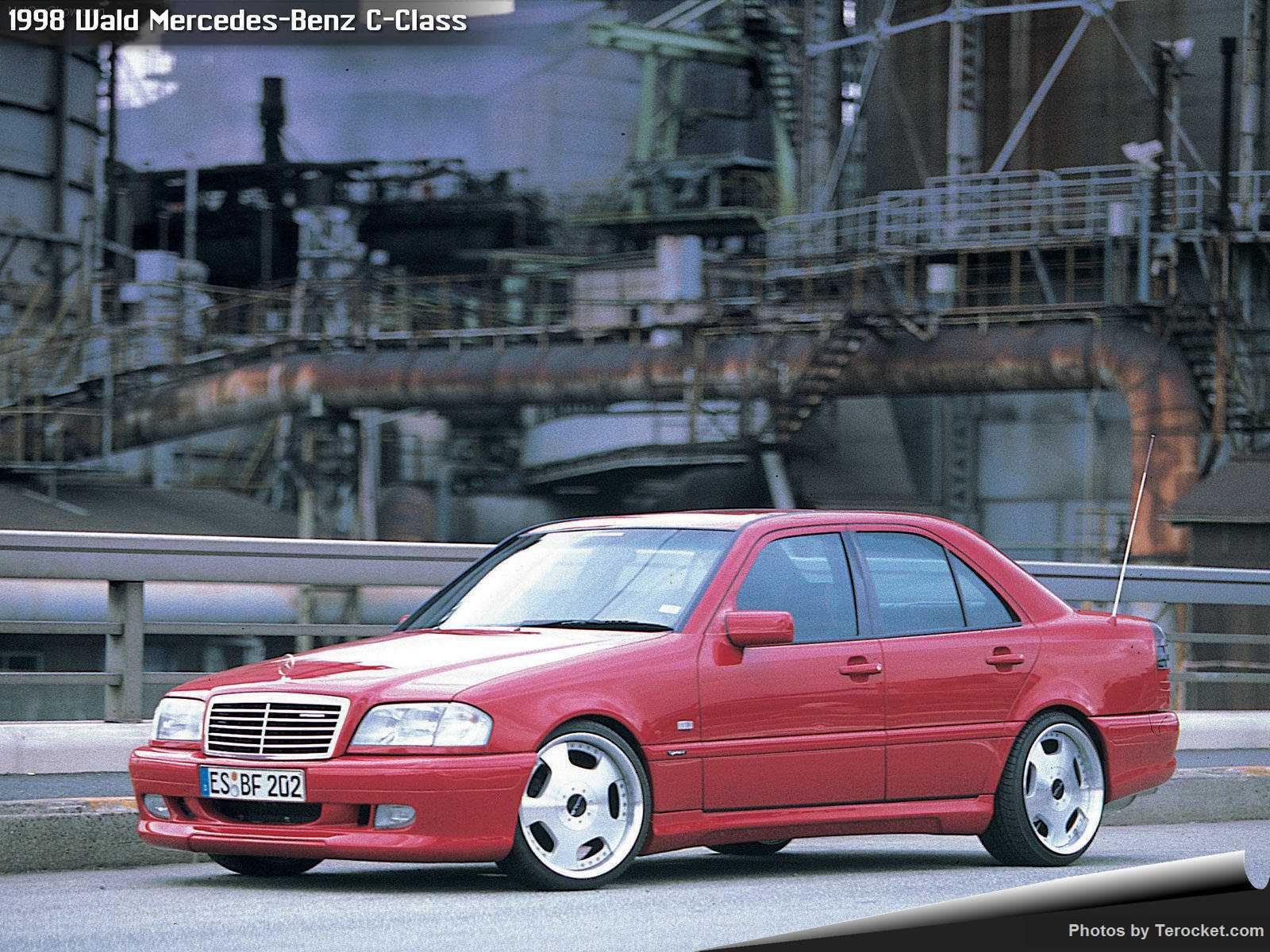 Hình ảnh xe độ Wald Mercedes-Benz C-Class 1998 & nội ngoại thất