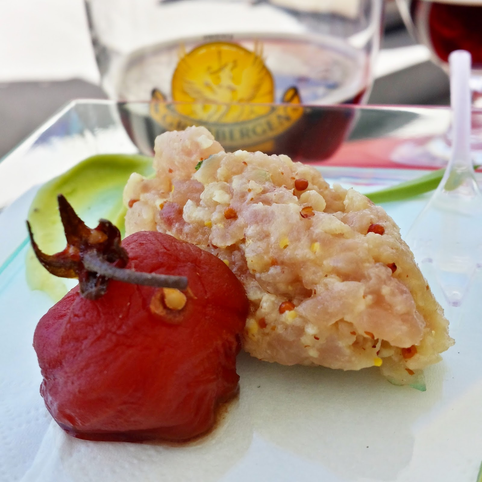 bonito del norte, aguacate y tomate de Beatriz Sotelo