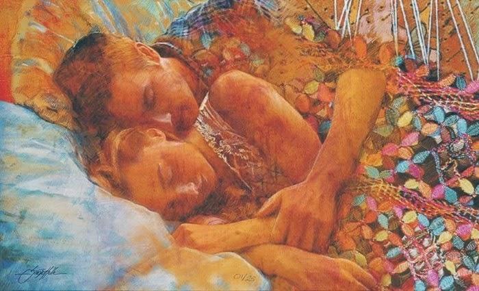 Сочетание цифровой и традиционной живописи. Sergio Helle
