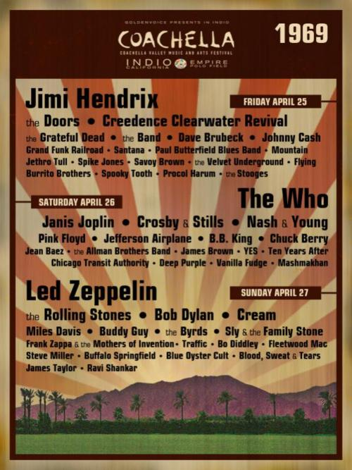 Festival de Música y Artes de Coachella Valley (1969)