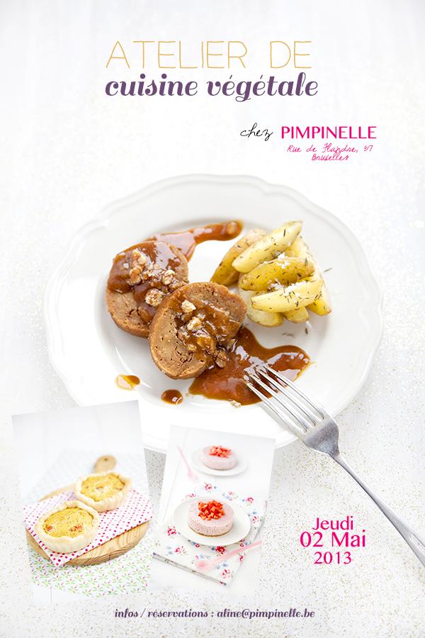 Atelier de cuisine v g tale chez pimpinelle 100 for Ateliers cuisine bruxelles