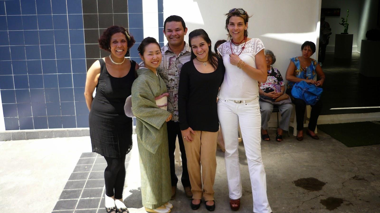 Gladys Calzadilla, Kyoto Kato, Israel Rojas Sánchez, Carola Erminy