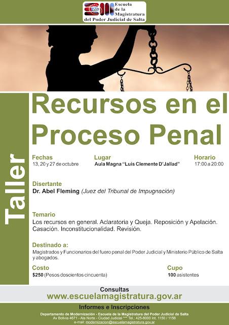 Recursos en el Proceso Penal