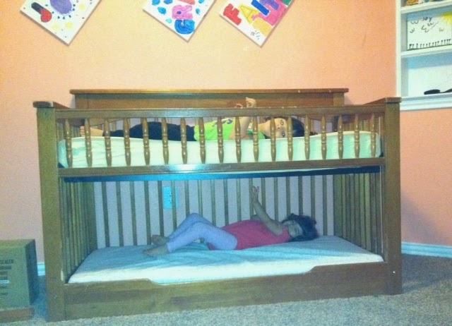 Lets Fill The Van Crib To Toddler Bunk Bed
