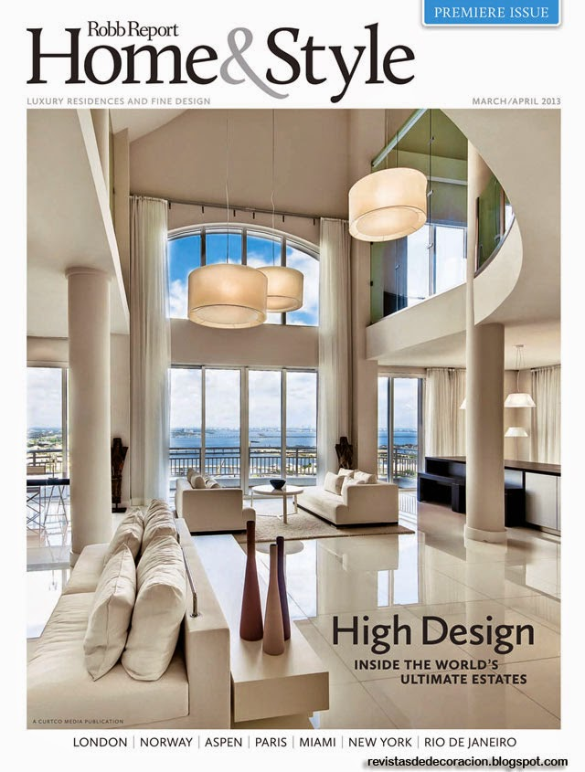Revista de decoraci n casa estilo revistas de Revista interiores ideas y tendencias