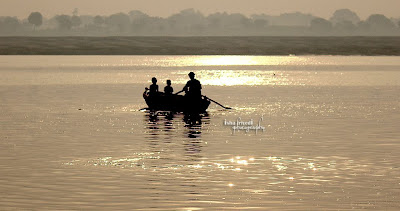 """Peace and Sunset clicked by Isha Trivedi in Varanasi """"Isha Trivedi"""" """"Varanasi"""""""